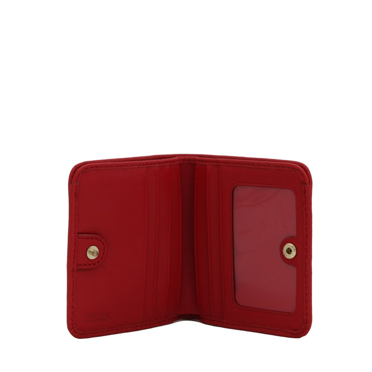 Coach 49652B Legacy Small Leather Wallet-Red