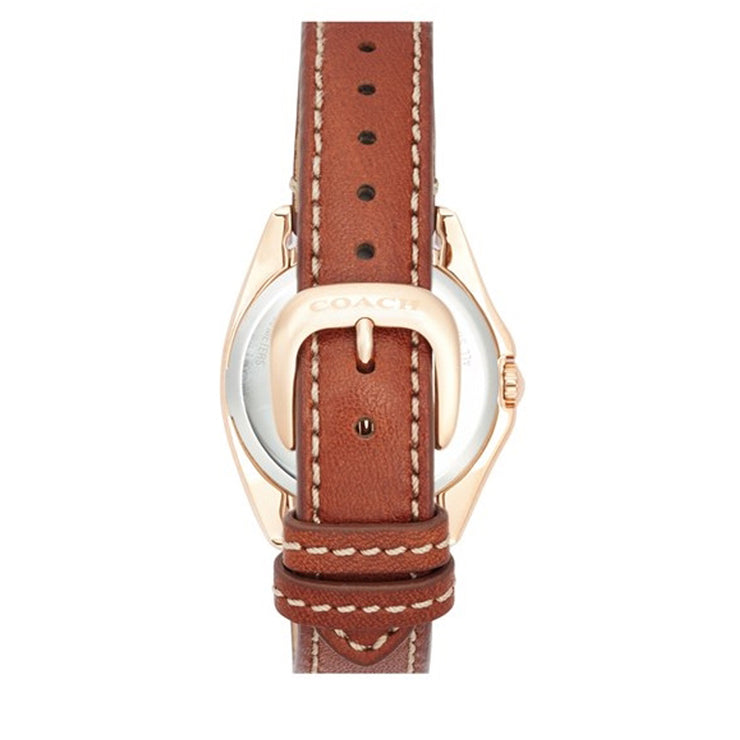 Coach Watch 14501910- Teagan Mini Brown Leather Multi-Dial Ladies Watch