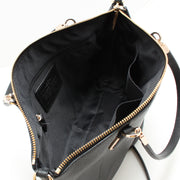 Coach 33733 Small Kelsey Crossbody Bag in Pebble Leather- Black