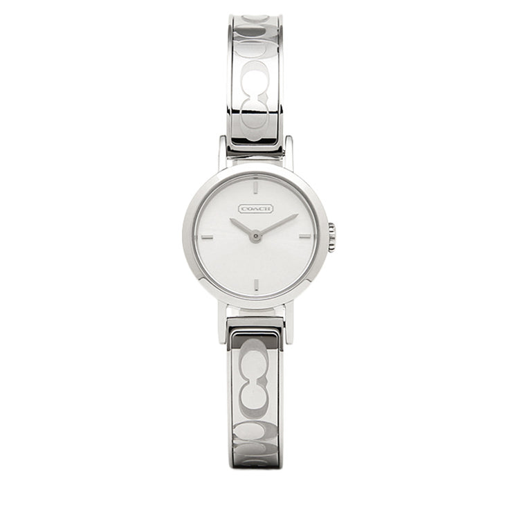 Coach Watch 14501438- Signature Stainless Steel Bangle Ladies Watch