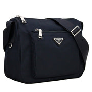 Prada Nylon Shoulder-Crossbody Bag- Navy