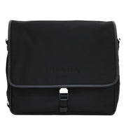 Prada 2VD166 Tessuto Nylon Messenger Bag with Flap