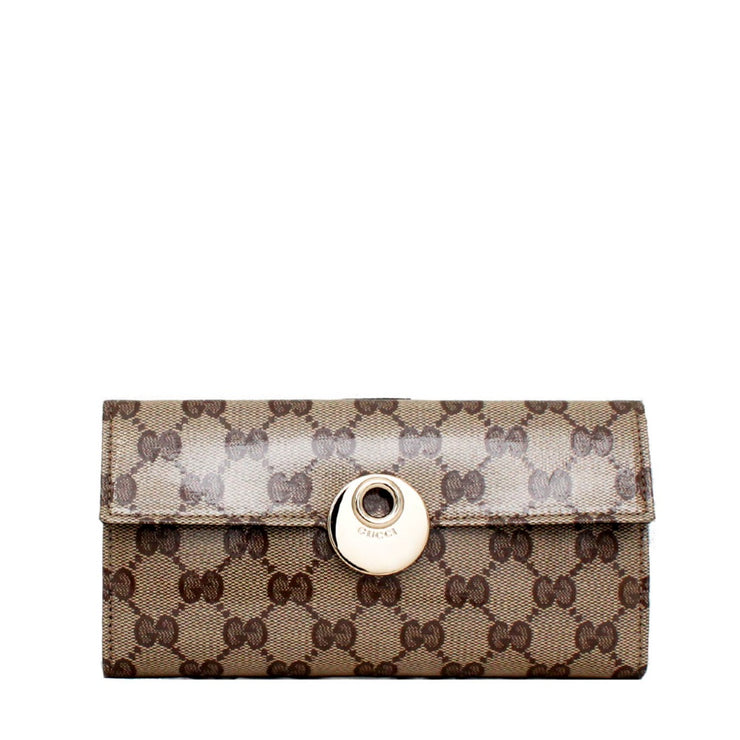 Gucci GG Crystal Continental Wallet