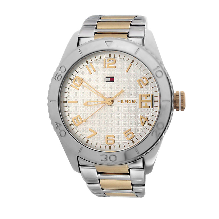 Tommy Hilfiger Ladies' Two-Tone Stainless Steel Watch w Round Dial