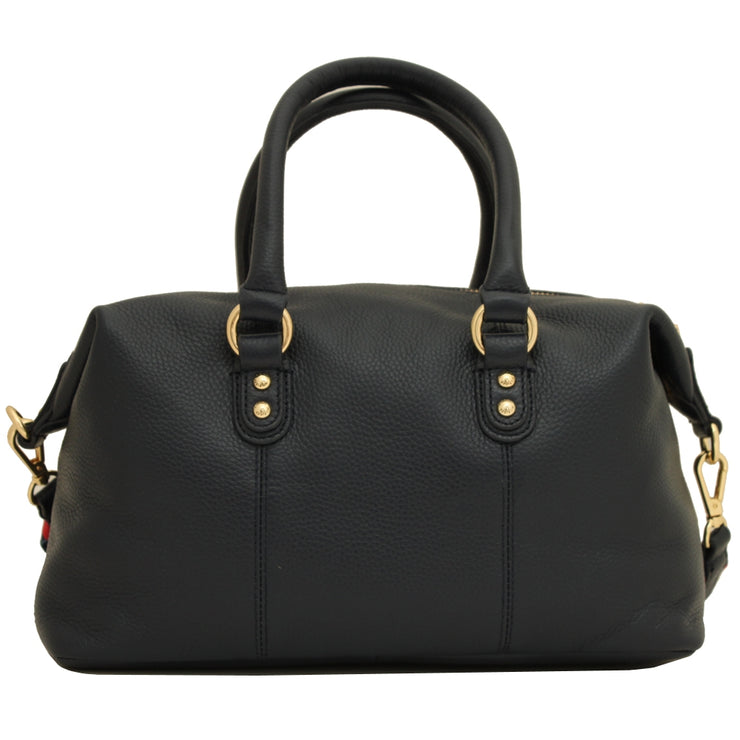 Tommy Hilfiger Addy Small Satchel Bag- Navy