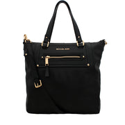 Michael Kors Glimore Leather Large Tote- Black