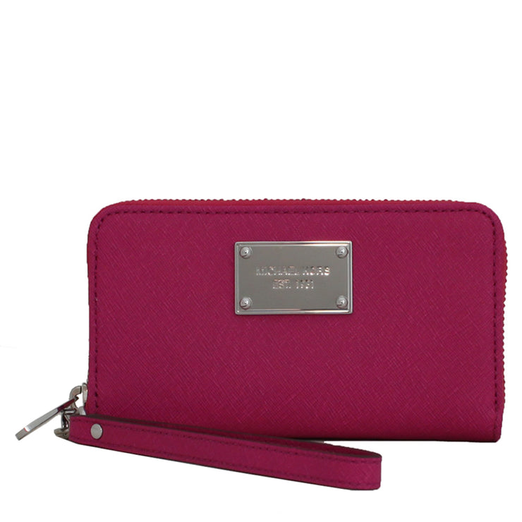 Michael Kors Large Multi-Functional Phone Case- Fuschia