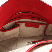 Michael Kors Brooke Medium Tote Bag- Red