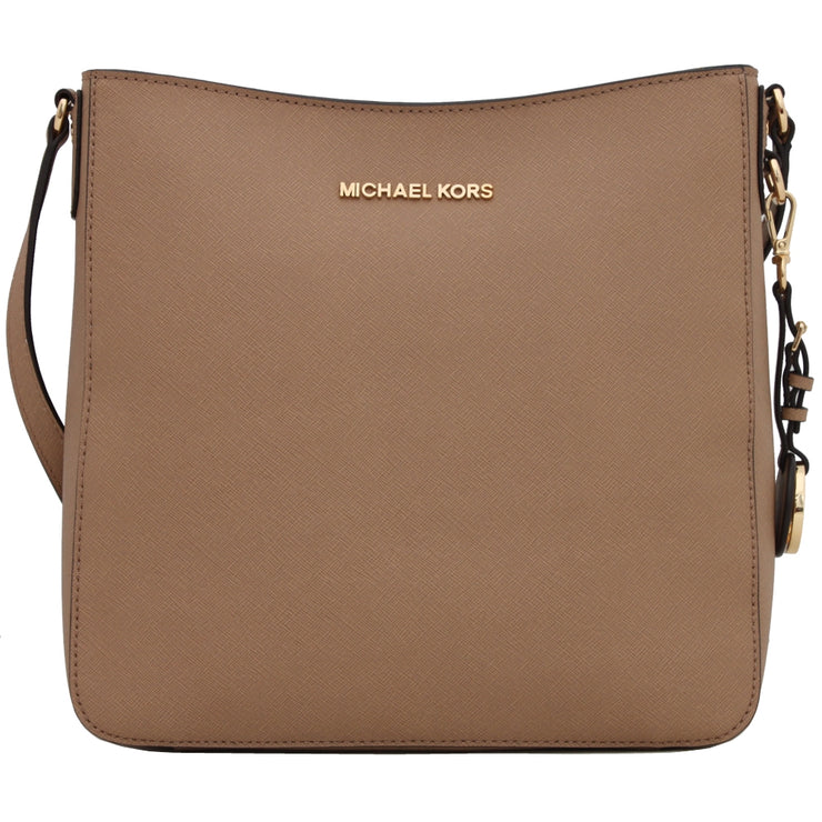 Michael Kors Jet Set Travel Large Messenger Bag- Dark Khaki