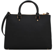 Michael Kors Jet Set Travel Dressy Large Tote Bag- Black