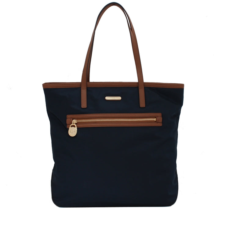 Michael Kors Kempton Nylon Large North South Tote Bag- Navy