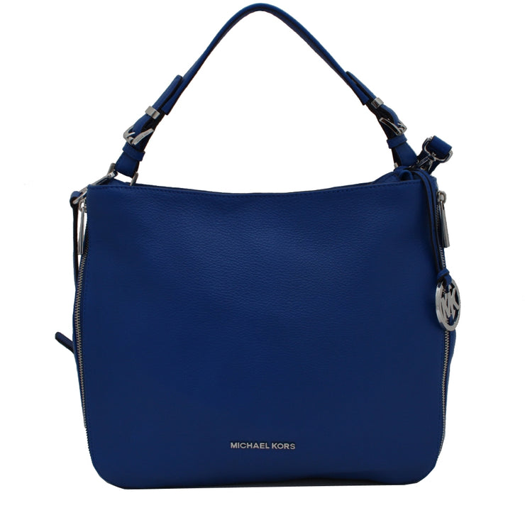 Michael Kors Essex Leather Large Convertible Shoulder Bag- Electric Blue