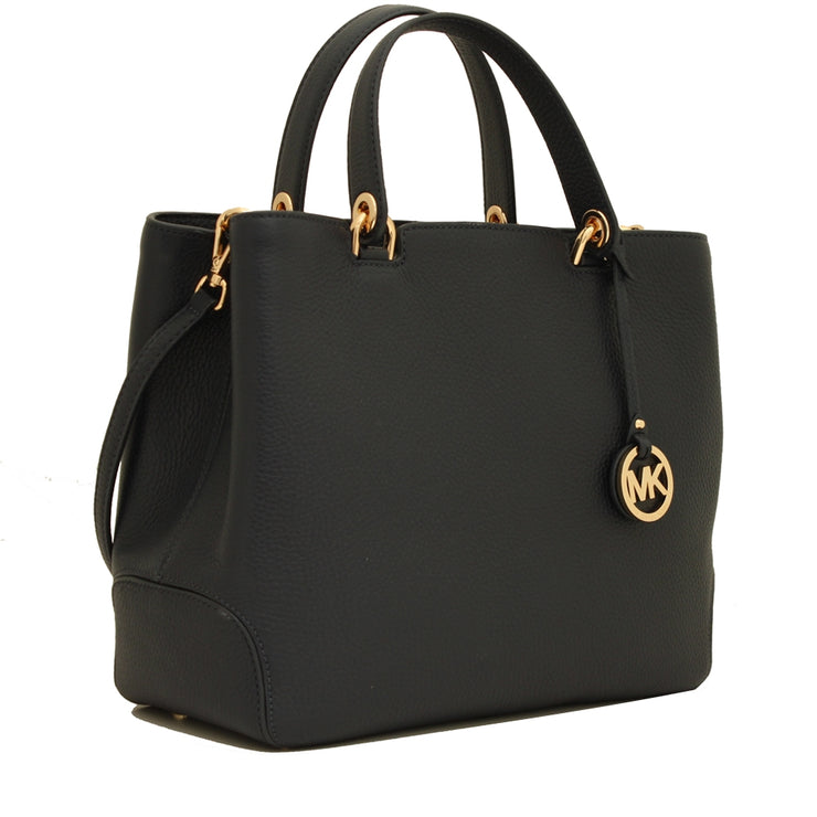 Michael Kors Anabelle Large Top-Zip Tote Bag- Admiral