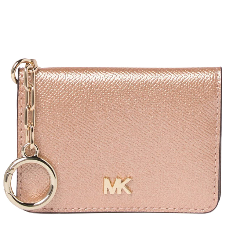 Michael Kors Leather Key Ring Card Holder