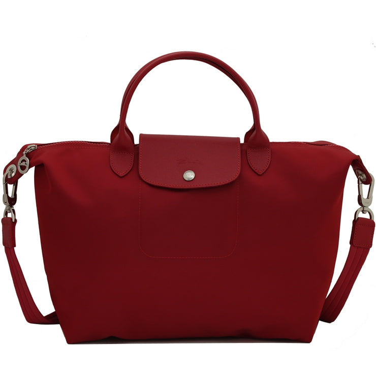 Longchamp 1515578 Le Pliage Neo Medium Convertible Tote Bag- Ruby