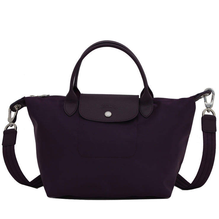 Longchamp 1512578 Le Pliage Neo Top Handle S Tote Bag- Bilberry