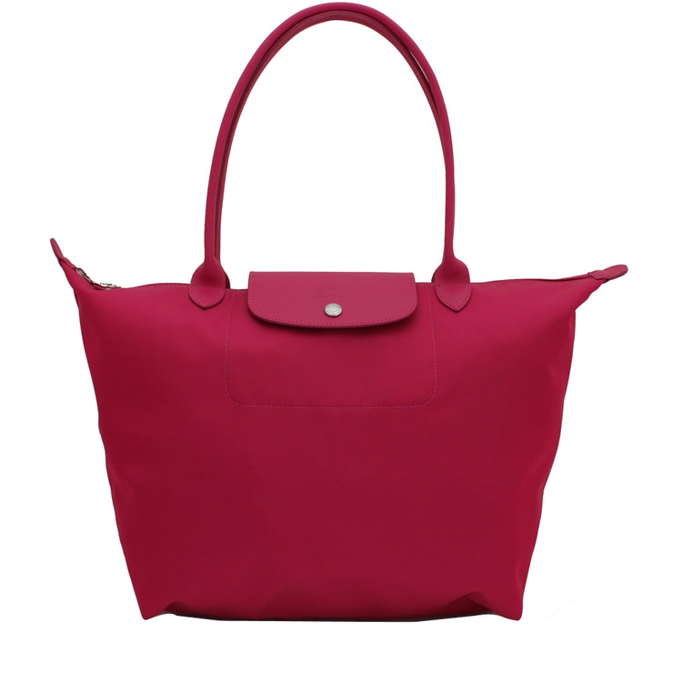 Longchamp 1899578 Le Pliage Neo Large Shoulder Tote Bag- Cyclamen