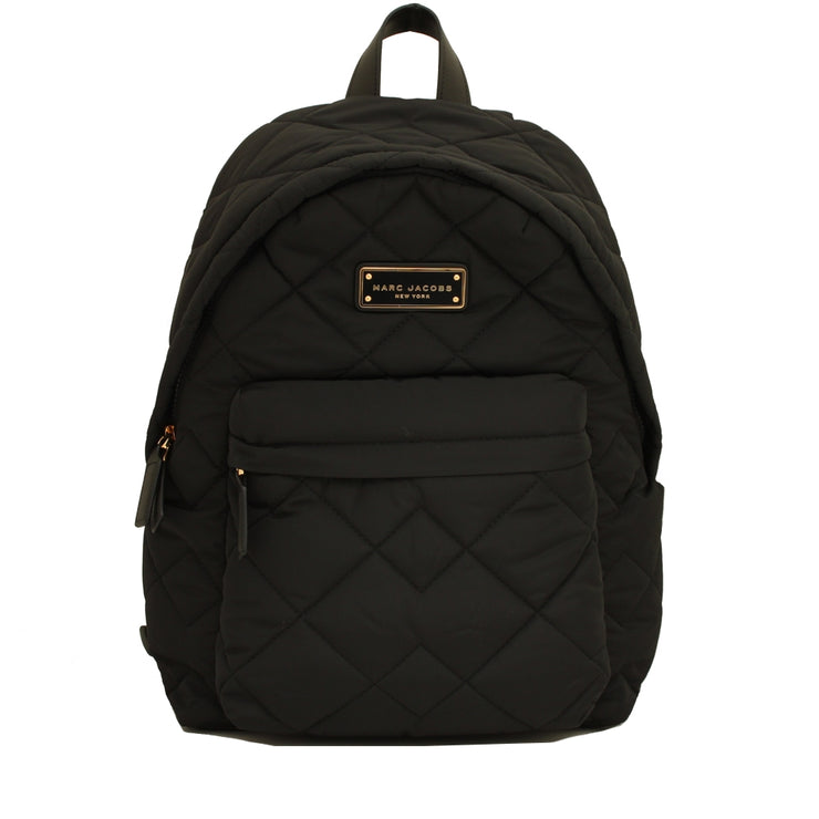 Marc Jacobs Crosby Quilted Nylon Back Pack Bag