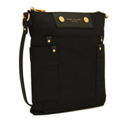 Marc Jacobs Preppy Nylon Sia Crossbody Bag- Black