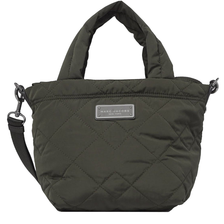 Marc Jacobs Quilted Nylon Mini Tote Bag