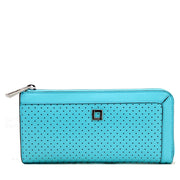 Lodis Catalina Liv Zip Around Wallet- Ocean