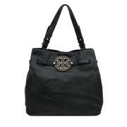 Tory Burch Amanda Tote Bag- Black