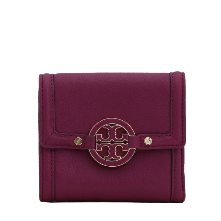 Tory Burch Amanda Trifold French Wallet- Fuschia