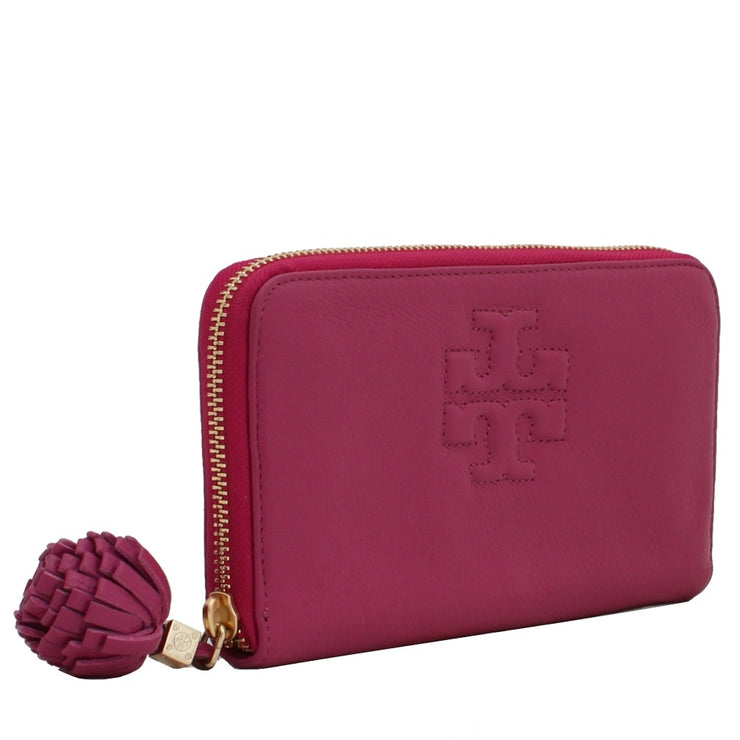 Tory Burch Thea Continental Wallet- Wildflower