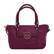 Tory Burch Amanda Mini Satchel Bag- Fuchsia