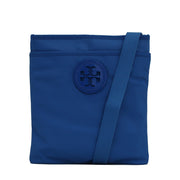 Tory Burch Nylon Ella Swingpack Bag- Peacock Blue