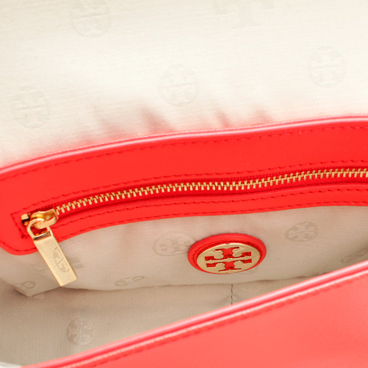 Tory Burch Robinson Chain Mini Bag- Poppy Red