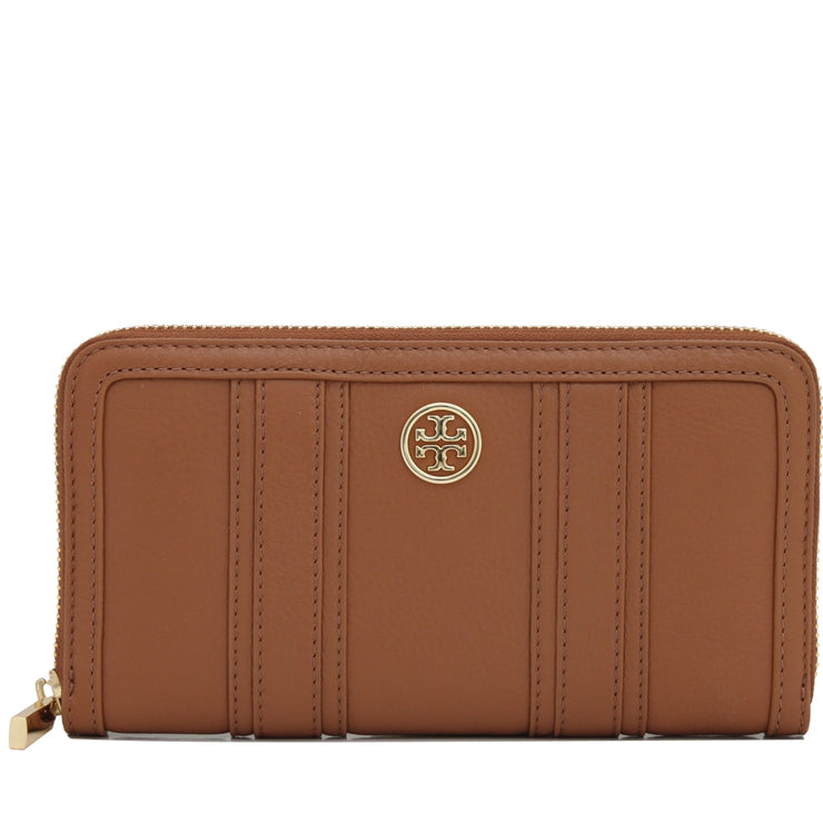 Tory Burch Landon Continental Wallet- Bark
