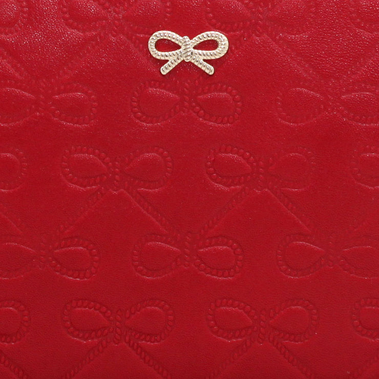 Anya Hindmarch Leather Wallet- Red