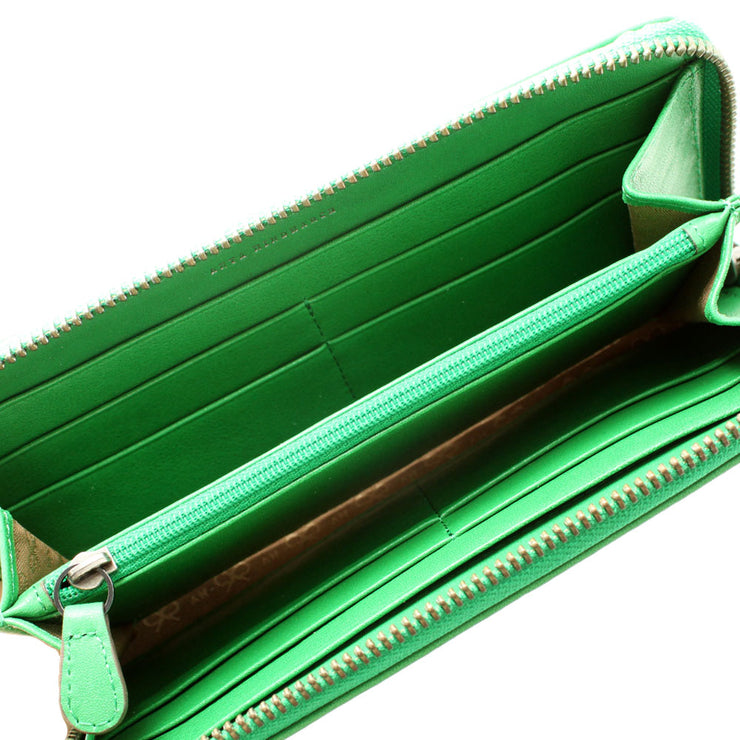 Anya Hindmarch Leather Wallet- Green