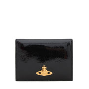 Vivienne Westwood Classic Orb Card Holder- Black