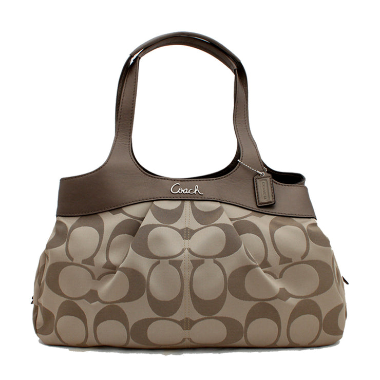 Coach Signature Lexi Satchel Bag