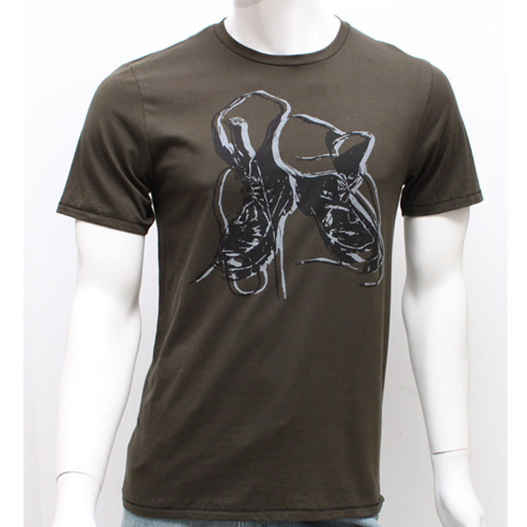 Kenneth Cole Graphic Boots Tee