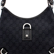 Gucci GG Denim Small Abby Hobo Bag