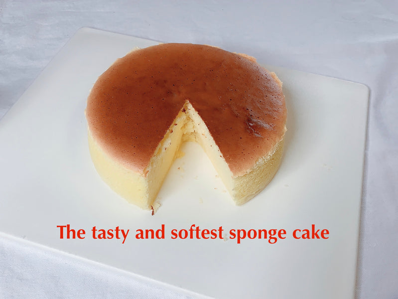 Recipe for soft sponge cake