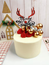 Load image into Gallery viewer, 6PCS Christmas tree/Santa/Reindeer Merry Christmas cake topper