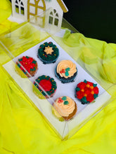 Load image into Gallery viewer, Clear Cupcake & Muffin boxes with 6 holes-12 sets