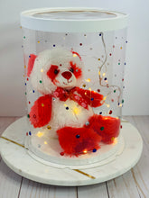 "Load image into Gallery viewer, See through clear tall round Cake box- 8.5""Diameter x 11.75""Height"