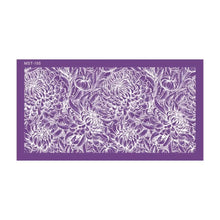Load image into Gallery viewer, Chrysanthemum Flower Pattern Reusable Fabric Mesh Stencil
