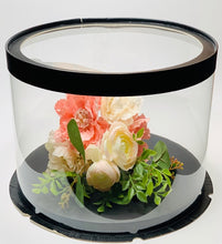 "Load image into Gallery viewer, Large See through clear round Cake box- 11.75""Diameter x 10""Height"