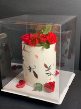 "Load image into Gallery viewer, Extra large and tall clear square Cake Box-16""Height x 14""L x 14""W"