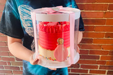 "Load image into Gallery viewer, 10 Sets clear 4"" & 5"" Mini Cake and Desserts boxes---7""Dx7""H"