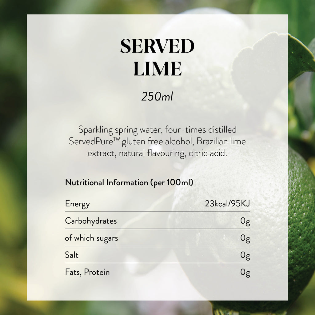 Lime Nutritional Information