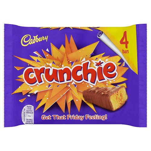 (SOLD OUT) Cadburys Crunchie 4 Pack