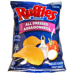 Ruffles All Dressed Potato Chips (48x40g)