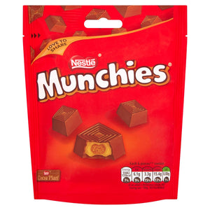 (OUT OF STOCK) Munchies Milk Chocolate Sharing Pouch (104G)